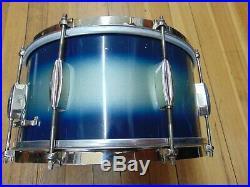Vintage 3 pc Slingerland Radio King Drum Set, Snare, Bass, Rack, Cloud Badge
