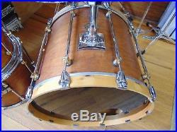 Vintage 5 pc Premier Signia Maple Drum Set 22 10 12 14 16 drums