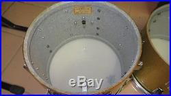 Vintage 60's/70's Rogers 10, 12,13,14,15,16 18 Drum Set 9/72 powertone