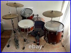 Vintage Gretsch 5-piece Drum Set 1979-1981 bass, 2 floor toms, rack tom, snare