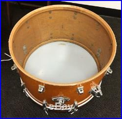 Vintage Ludwig Gold Sparkle Drum Set Made in USA
