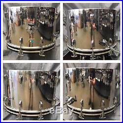 Vintage Ludwig Stainless Steel 9 215 13 10 215 14 16 215 16 14 215 22