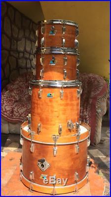 Vintage Ludwig drums 1979 set 22,16,13,12