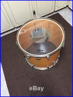 Vintage Rare 1979 -1981Luwig Maple Drum Set Of 5. And Original Luwig Cases