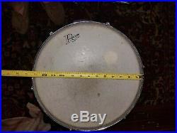 Vintage Rogers 4 piece drum set