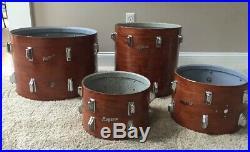 Vintage Rogers Swivomatic Era Tom Drum Set Shells & Lugs 12,13,16, & 20 L@@K