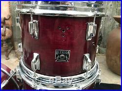 Vintage Tama Superstar 6pc REPAINTED Drum Set kit 10,12,13,14,16,22 READ