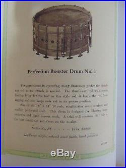 Vintage Walberg & Auge Drum Set Bass Drum, 28 x 16, Snare Drum 6 x 14 Pedal