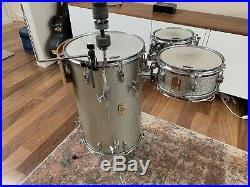 YAMAHA CLUB JORDAN cocktail drum set kit silver sparkle