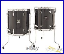 Yamaha 5pc Oak Custom Drum Set Musashi Black Used