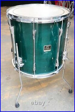 Yamaha 5pc Stage Custom Drum Set Marina Green