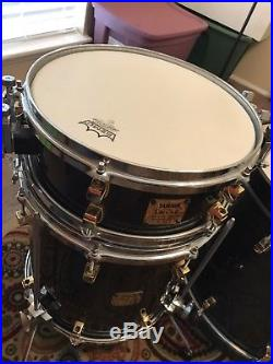 Yamaha 7 piece Maple Custom Drumset with Pearl Masters Studio &Dave Weckl Snares