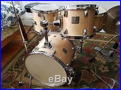Yamaha Birch/Maple Custom Absolute Drum Set Bebop Sizes (16 13 10)