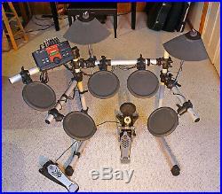 Yamaha DTXPLORER Electronic Drum Set Excellent Condition