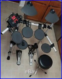 Yamaha DTXplorer Model DTXPL Electronic Drum Set withSeat! TESTED WORKS