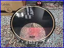 Yamaha Live Custom 4pc Emerald Shadow Drum Set 22,16,12,10