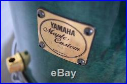 Yamaha Maple Custom 4 piece drum set kit Japan made very good-drums for sale