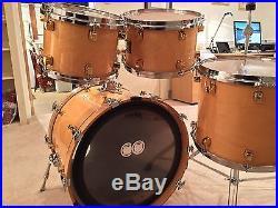 Yamaha Maple Custom Drum Set (Modified)