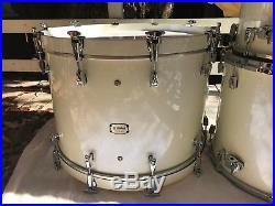 Yamaha PHX Phoenix polar white 9 piece MONSTER drum set