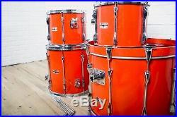 Yamaha Recording Custom 4 piece drum set kit Japan made excellent-drums for sale