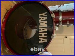 Yamaha Recording Custom Drum Set 10-12-14-16-22 Cherry Made in Japan