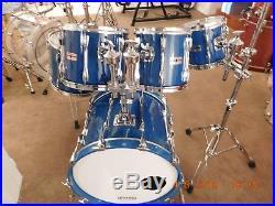 Yamaha Recording Custom Drum Set Cobalt Blue