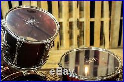 Yamaha Recording Custom Pre YESS 5 Piece Drum Set, Cherry Finish, Made In Japan