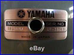 Yamaha Recording Custom Quartz Gray 3pc Drum Set