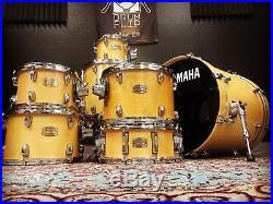 Yamaha Stage Custom Birch 7pc Drum Set NATURAL Finish