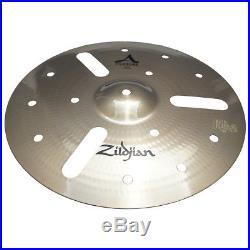 Zildjian 20814 14 Custom Efx Cast Bronze Drumset Cymbal Brilliant Finish Used