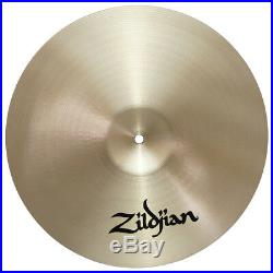 Zildjian A0265 15 Fast Crash Cast Bronze Drumset Cymbal Low Mid Pitch Used