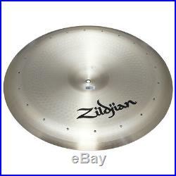 Zildjian A0315 22 Swish Knocker Drumset Cymbal 20 Rivets & Med Bell Size Used