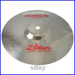 Zildjian A0609 9 Oriental Trash Splash Drumset Cymbal Brilliant Finish Used