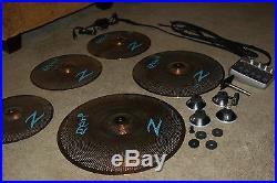 zildjian gen 16 a e cymbal set complete l k used drum sets. Black Bedroom Furniture Sets. Home Design Ideas