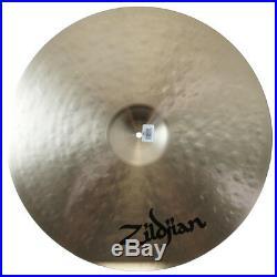 Zildjian K0832 22 Light Ride Cast Bronze Drumset Cymbal Low-Mid Pitch Used