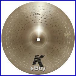 Zildjian K0934 12 K Custom Dark Splash Drumset Bronze Cymbal Mid Pitch Used