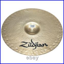 Zildjian K0984 18 K Custom Fast Crash Drumset Bronze Cymbal Dark Sound Used