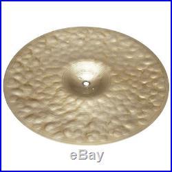 Zildjian K0994 14 K Custom Series Session Hi Hat Top Drumset Cymbal Used