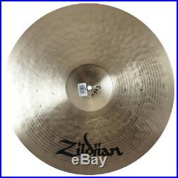 Zildjian K1069 19 K Constantinople Crash Ride Drumset Cast Bronze Cymbal Used