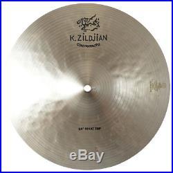 Zildjian K1071 14 K Constantinople Top Hi Hat Drumset Cast Bronze Cymbal Used